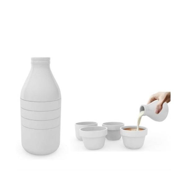 service thé café with milk doiy
