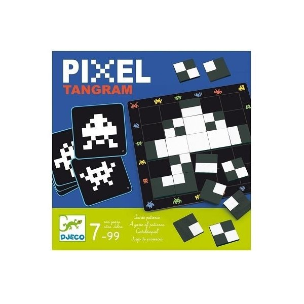 pixel tangram djeco