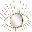 miroir oeil doré Boltze
