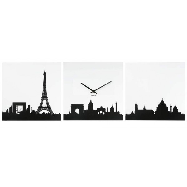 horloge Paris panorama