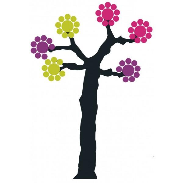 sticker arbre à pastilles Domestic